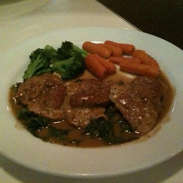 Veal Saltimbocca - Capri Restaurant, Raleigh, NC