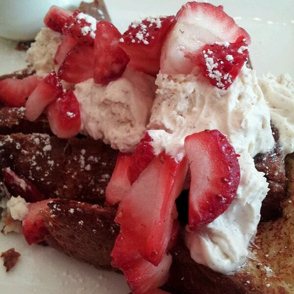 brioche french toast - Magic Flute, San Francisco, CA