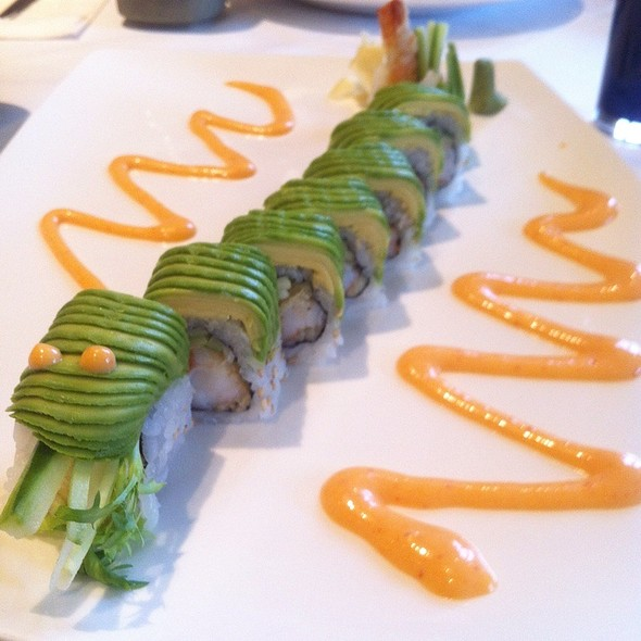Green Dragon Roll - Mye Japanese Restaurant, Oakville, ON