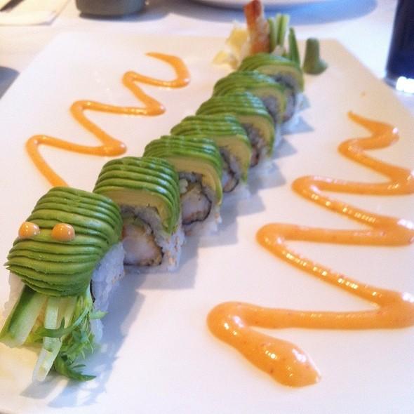 Green Dragon Roll - Mye Japanese Restaurant, Oakville, ON