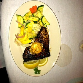 Blackened Swordfish - 42nd Street Oyster Bar, Raleigh, NC