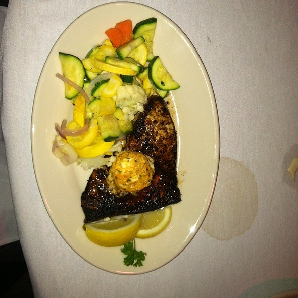 Blackened Swordfish - 42nd Street Oyster Bar, Raleigh, NC