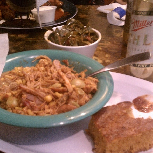 Brunswick Stew And Greens  - Baby Blues BBQ, Philadelphia, PA