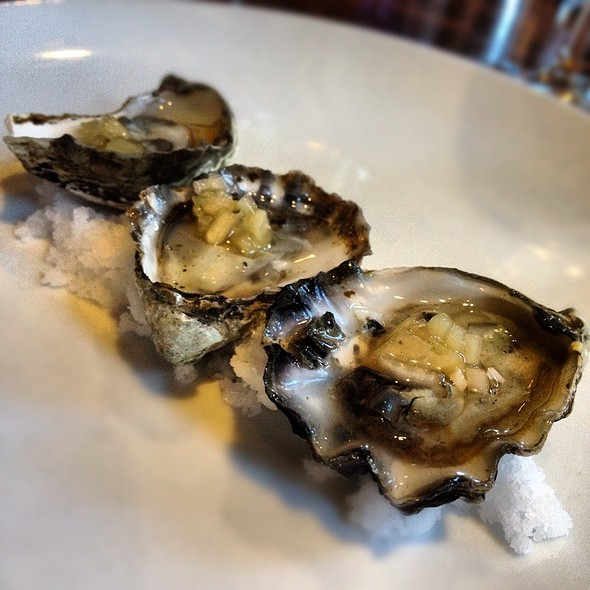 Kumimoto Oysters - Cucina 24, Asheville, NC