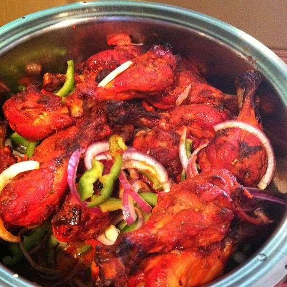 Tandoori Chicken - Nirvana Fine Indian Restaurant, Wilmington, DE