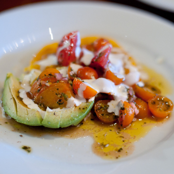 Tomato and Avocado Salad - Camino, Oakland, CA