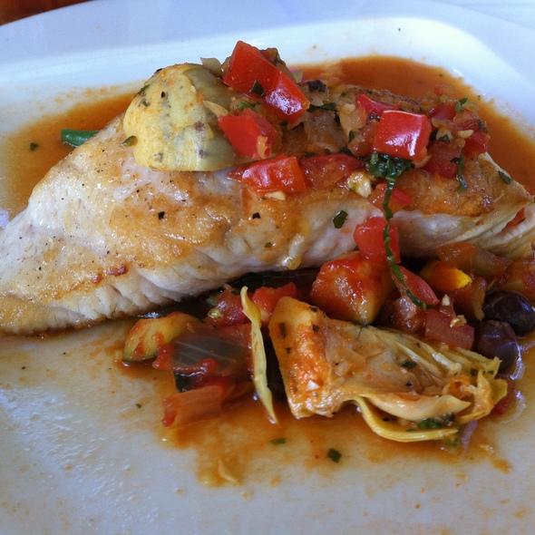 Seabass in a Citrus Mediterranean Sauce - French Market Grille, San Diego, CA