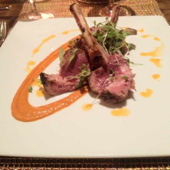 Rack of Lamb - Luminaria Restaurant & Patio, Santa Fe, NM
