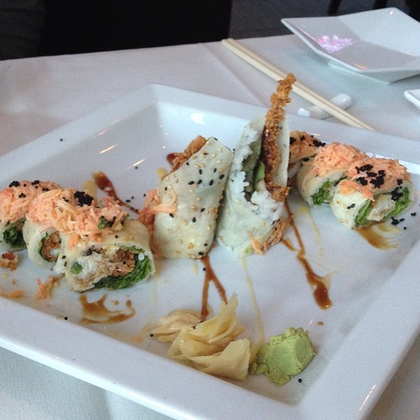 New Garden Roll - Imperial Koi Asian Bistro Sushi Bar, Greensboro, NC