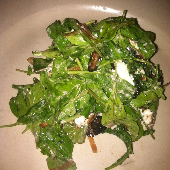 Arugula Salad With Fig Prosciutto And Goat Cheese - Lana Restaurant & Bar, Charleston, SC