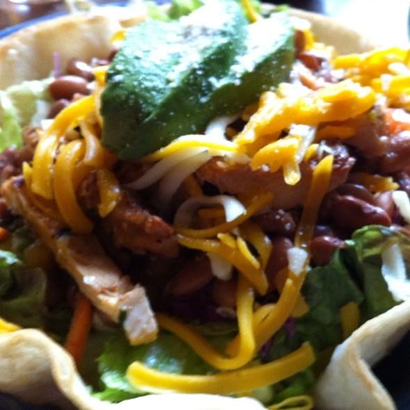 Chicken Tostada Salad - El Palomar - Santa Cruz, Santa Cruz, CA