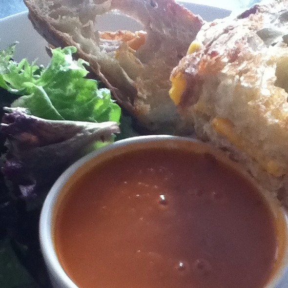 "Tomato Soup & Grilled Cheese Sandwich"" - Paragon - Portland, Portland, OR"