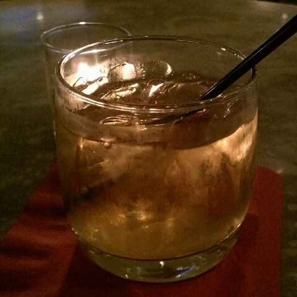 Basil Hayden Bourbon On The Rocks - Toasted Oak Grill & Market, Novi, MI