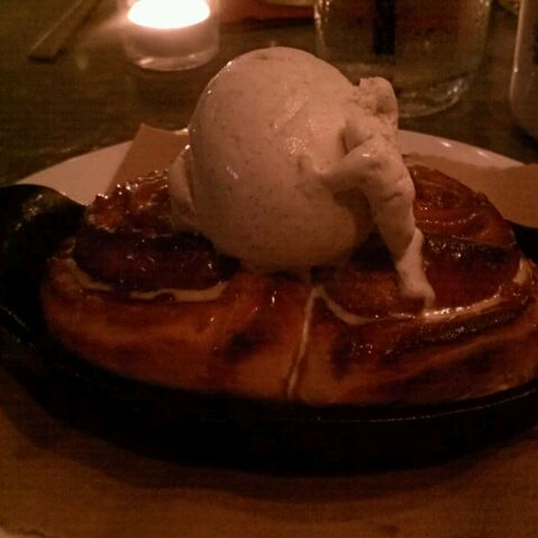 Bacon Caramel Sticky Buns - Toasted Oak Grill & Market, Novi, MI