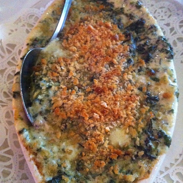 Creamed Spinach - Chicago Prime Steakhouse, Schaumburg, IL
