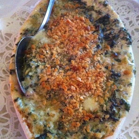 Creamed Spinach - Chicago Prime Steakhouse, Schaumburg, IL