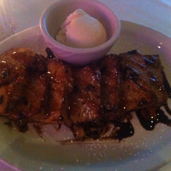 Banana Bread Pudding - Chicago Prime Steakhouse, Schaumburg, IL