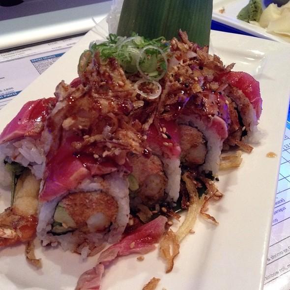 Crunch Tuna Tataki Roll - O Fine Japanese Cuisine - Irvine, Irvine, CA