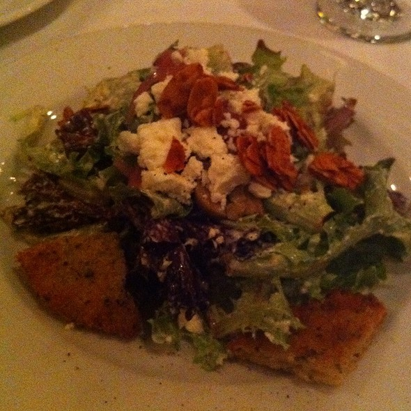 Mixed Green Salad - The Firehouse Restaurant, Sacramento, CA