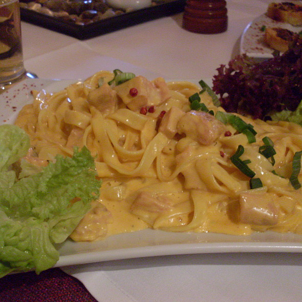 Tagliatelle With Salmon - Asador Steakhaus, Berlin, BE
