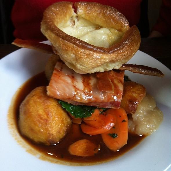 Roast Pork Belly - The Roebuck, London