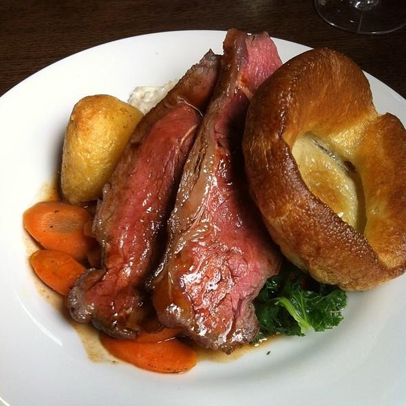 Roast Beef - The Roebuck, London