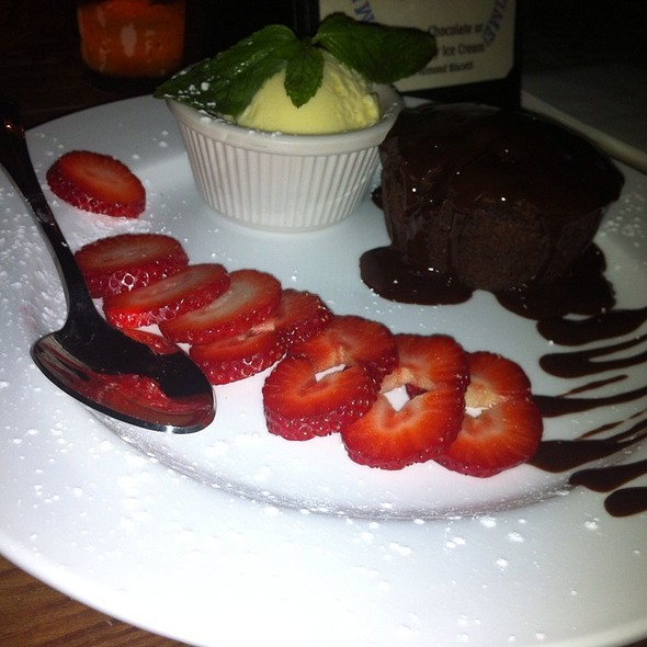 Molten Chocolate Cake - The Half Pint, New York, NY