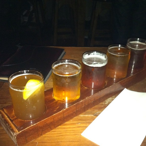 Beer Flight - The Half Pint, New York, NY