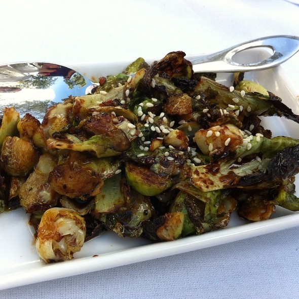Roasted brussels sprouts - union : asian supper club, Delray Beach, FL