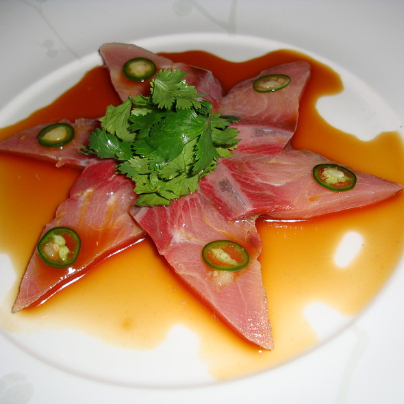 Yellowtail Sashimi with Jalapeno - Nobu Honolulu, Honolulu, HI