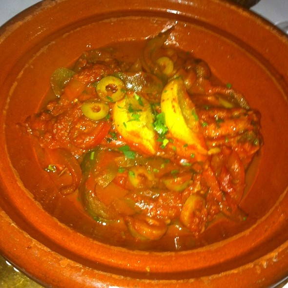 Fish Tagine - Barbes Restaurant, New York, NY