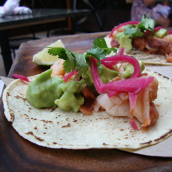 Spicy Shrimp, Bacon, and Avocado Tacos - Tico, Boston, MA