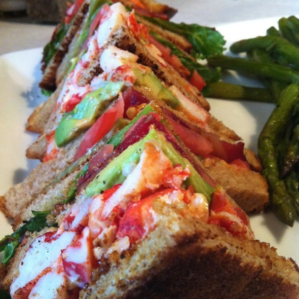 Lobster club sandwich - Denver Chophouse, Denver, CO