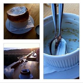 Vanilla Bean Souffle With Grand Marnier - Fish out of Water, Santa Rosa Beach, FL