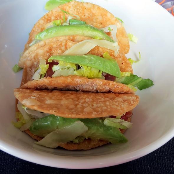 Ahi Tuna Tartare Tacos - The Plaza Restaurant at Sheraton Columbus at Capitol Square, Columbus, OH