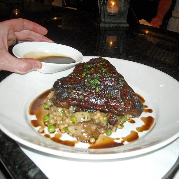 Braised Painted Hills Beef Short Rib  - Satterfield's Restaurant, Birmingham, AL