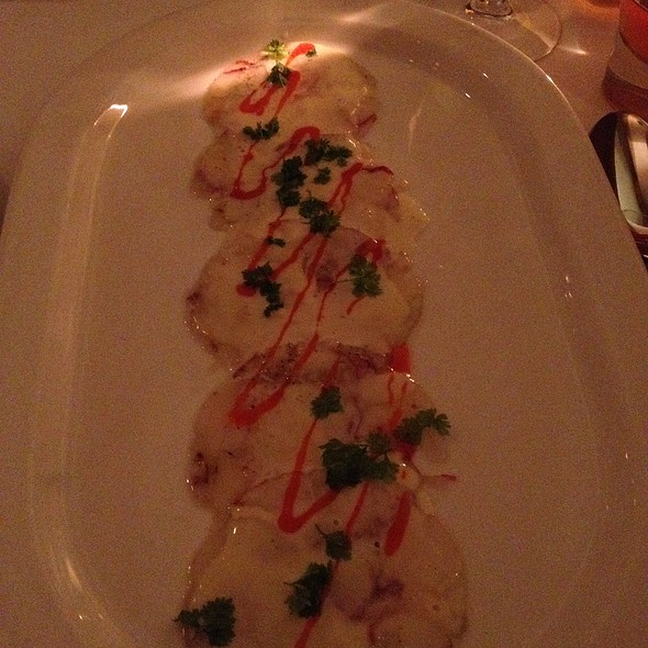 lobster carpaccio - Corduroy, Washington, DC