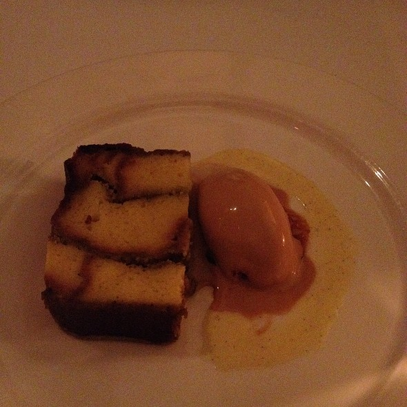 Pistachio Bread Pudding - Corduroy, Washington, DC