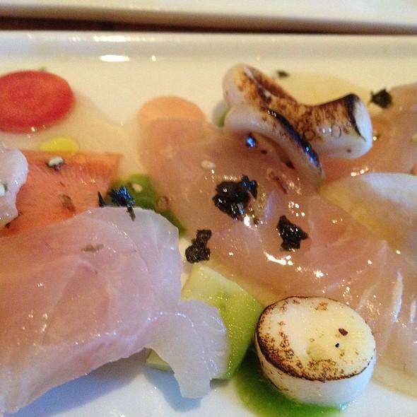 yellowtail sashimi - KITCHEN 1540, Del Mar, CA