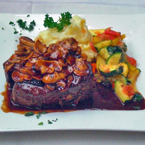 Steak Diane  - Cafe Soriah, Eugene, OR