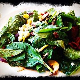 Spinach Salad - The Capital Grille - Las Vegas, Las Vegas, NV
