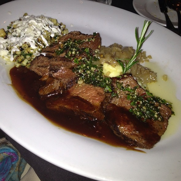 Chimichurri With Prime Sirlion - Nirvana Grille - Laguna Beach, Laguna Beach, CA
