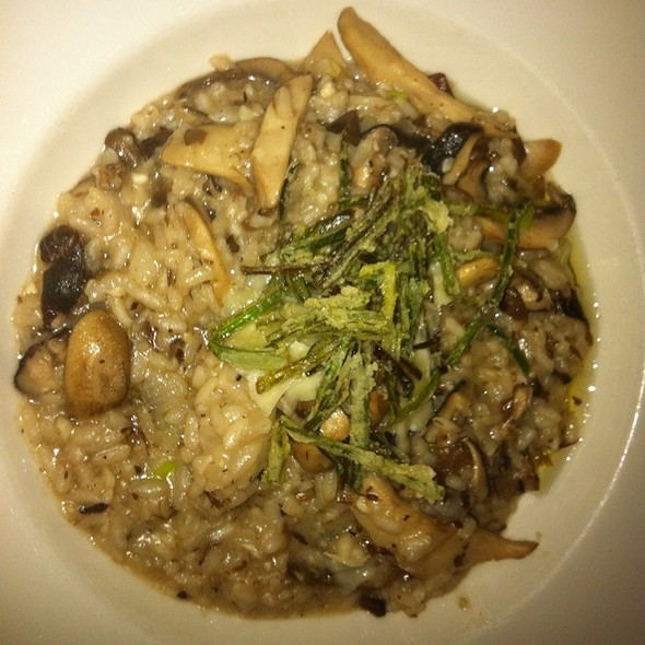 mushroom risotto - Lucas Park Grille, St. Louis, MO