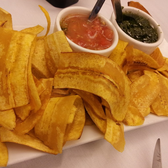Fried Banana Chips - Rudy & Paco Restaurant & Bar, Galveston, TX
