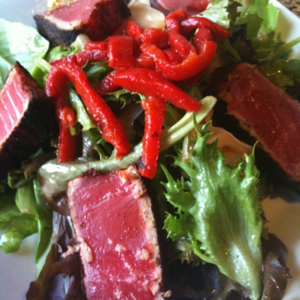 Seared Ahi Tuna Salad - The Cellar Bistro, Wheaton, IL