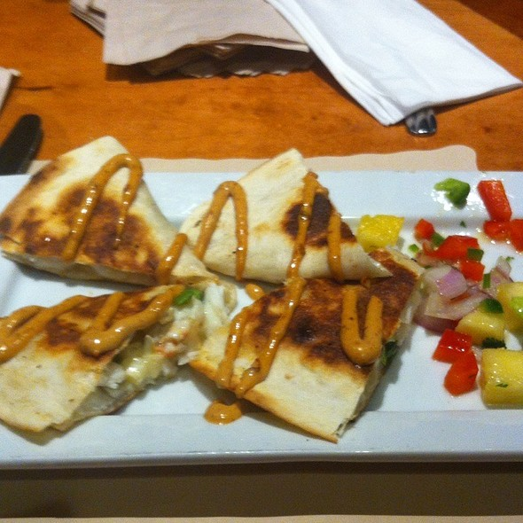 Crab Meat Quesadilla - Tex Mex Connection, North Wales, PA