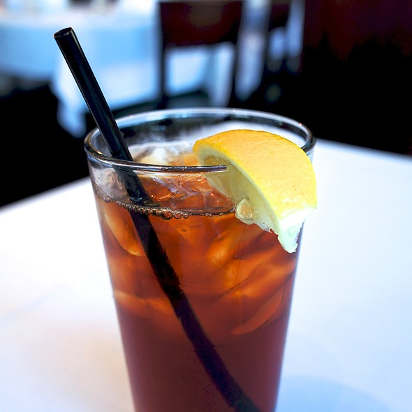 Ice Tea - Broadway Grill, Burlingame, CA