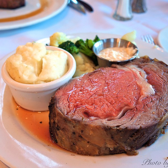 18Oz Prime Rib - Broadway Grill, Burlingame, CA