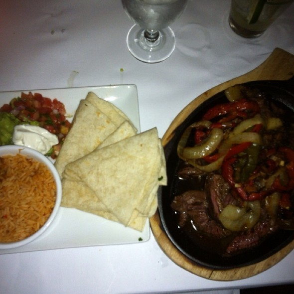 Flank Steak Fajitas - Agave, New York, NY