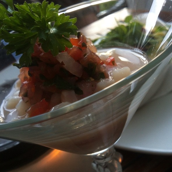 Scallop Ceviche - Metropolitan Kitchen & Lounge, Annapolis, MD